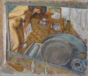 Pierre Bonnard, Spiegeleffekt oder Der Badezuber, 1909, Öl auf Leinwand, 73 x 84,5 cm (Hahnloser/Jaeggli Stiftung, Winterthur, Schenkung Verena Steiner-Jäggli, 2011)