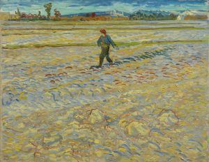 Vincent van Gogh, Der Sämann, 1888, Öl auf Leinwand, 72 x 91,5 cm (Hahnloser/Jaeggli Stiftung, Winterthur, Schenkung Elisabeth Lasserre-Jäggli, 1983)