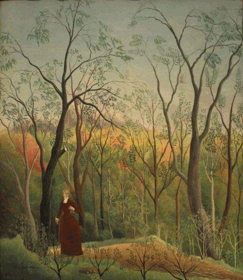 Henri Rousseau, La Promenade dans la forêt (Waldspaziergang), 1889, Kunsthaus Zürich.
