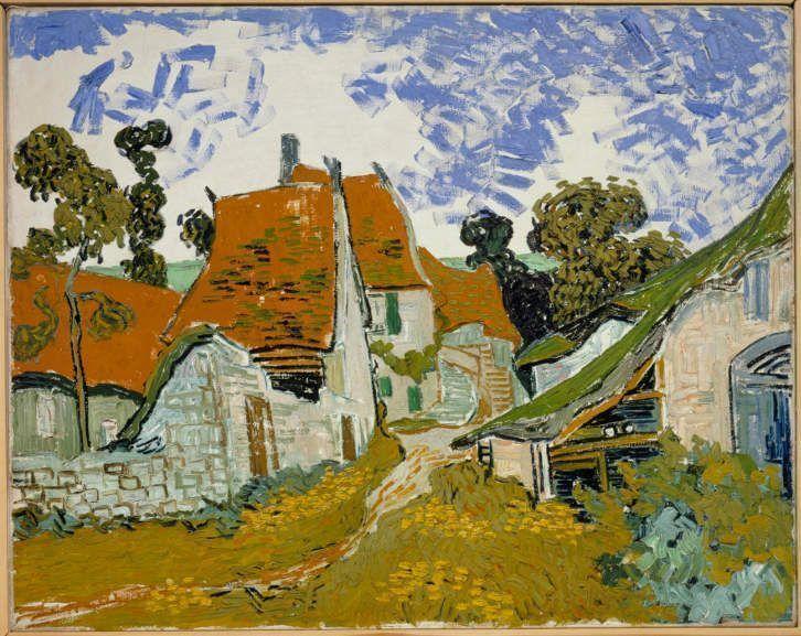 Vincent van Gogh, Straße in Auvers-sur-Oise, Mai 1890, Öl auf Leinwand, 73 x 92,5 cm (Ateneum Art Museum Finnish National Gallery - Hannu Aaltonen © Ateneum Art Museum Finnish National Gallery - Hannu Aaltonen)