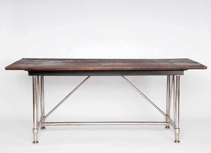 """Otto Wagner, Tisch für den Ausstellungsraum des Depeschenbüros """"Die Zeit"""", 1902 © MAK/Georg Mayer."""