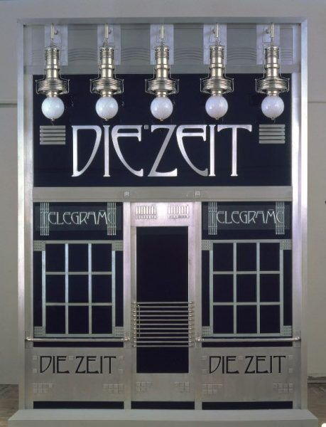 Otto Wagner, Portal des Depeschenbüros Die Zeit (Rekonstruktion von Adolf Krischanitz und Otto Kapfinger), 1902/1985 © Wien Museum