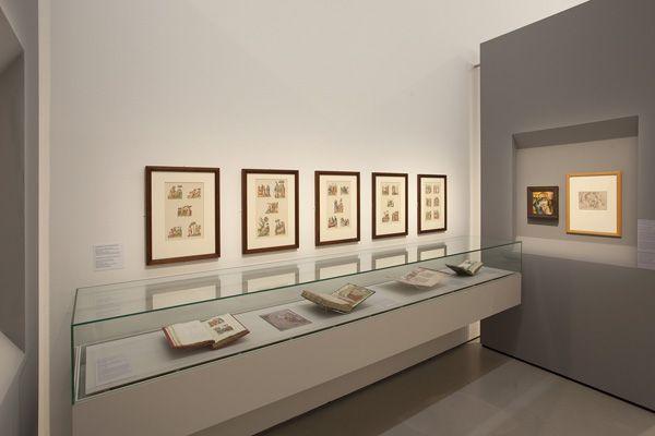 Ausstellungsansicht, WIEN 1450 - Der Meister von Schloss Lichtenstein und seine Zeit © Belvedere, Wien.