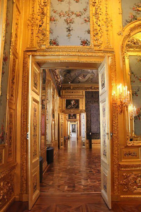 Das Winterpalais des Prinzen Eugen, Enfilade, Foto: Alexandra Matzner.