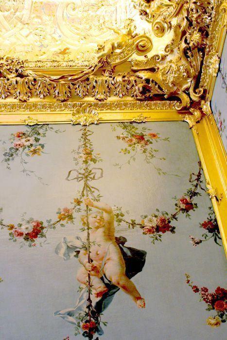 Das Winterpalais des Prinzen Eugen, Goldkabinett, Detail, Foto: Alexandra Matzner.