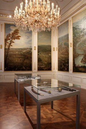 Das Winterpalais des Prinzen Eugen, Schlachtensaal (ehem. Bibliothekssaal), Foto: Alexandra Matzner.