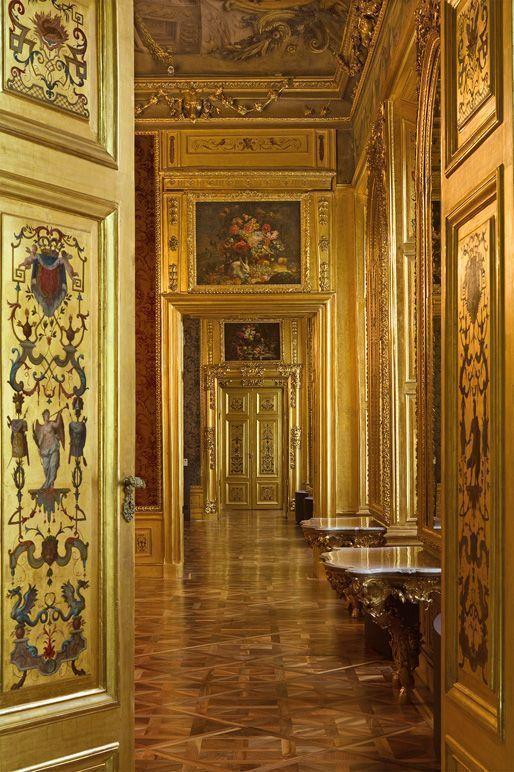 Das Winterpalais des Prinzen Eugen, Einblick, Foto: Oskar Schmidt, © Belvedere, Wien.