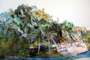 """Justine Blau, Somewhere else I, 2008, 120 x 280 x 350 cm, Installationsansicht """"distURBANces"""", MUSA 2012, Leihgabe der Künstlerin, Foto: Alexandra Matzner"""