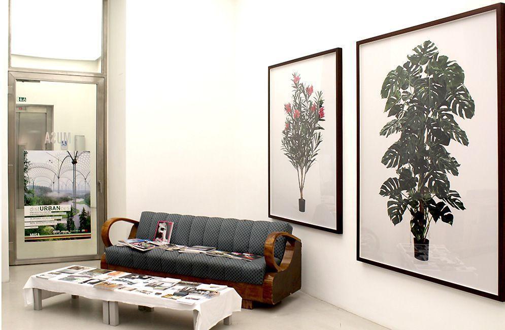 Installationsansicht distUBRANces im MUSA, Robert F Hammerstiel, Foto: Alexandra Matzner