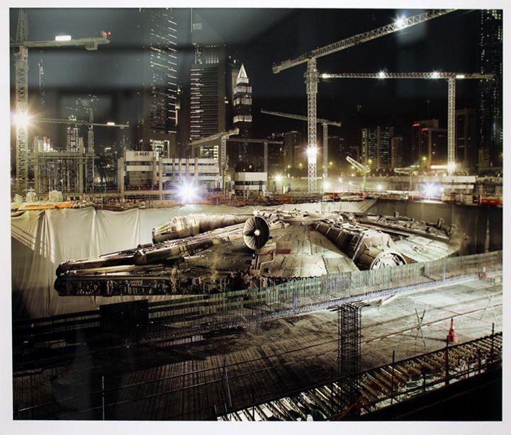 """Cédric Delsaux, Dark Lens, Installationsansicht """"distURBANces"""", MUSA 2012, Foto: Alexandra Matzner"""