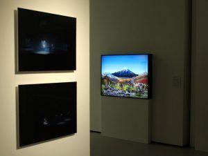 Installationsansicht distUBRANces im MUSA, Blau und Leidenfrost, Foto: Alexandra Matzner