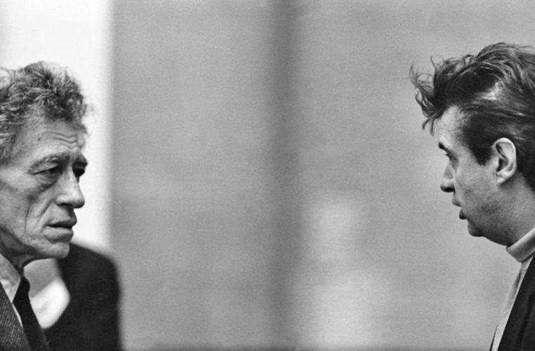 Alberto Giacometti und Francis Bacon, 1965, Silbergelatineabzug, Foto: © Graham Keen