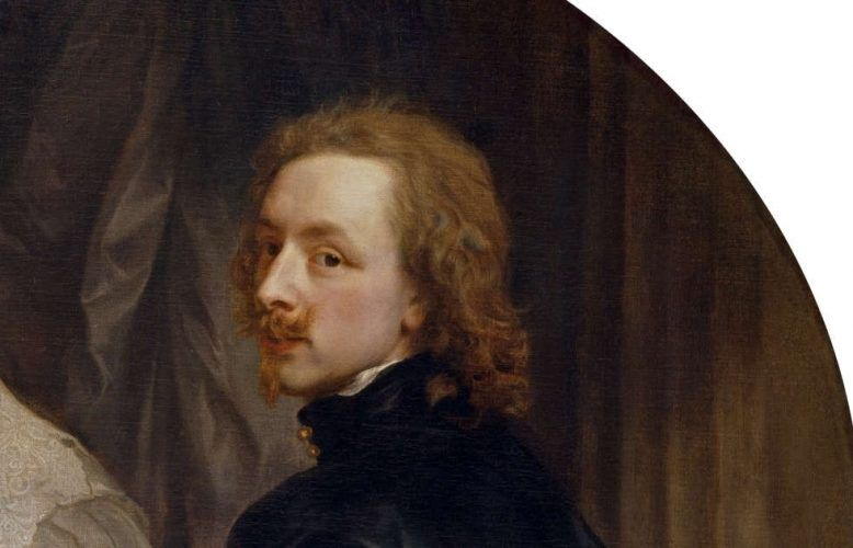 Anthonis van Dyck, Endymion Porter und Anthonis van Dyck, Detail, um 1633, Öl/Lw, 119 x 144 cm (© Museo Nacional del Prado)
