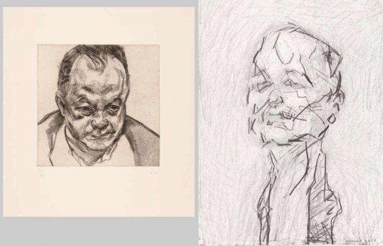 Frank Auerbach und Lucian Freud. Gesichter im Städel Museum