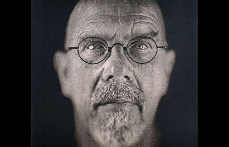 Chuck Close, Self-Portrait, Detail, 2009 (Albertina, Wien)
