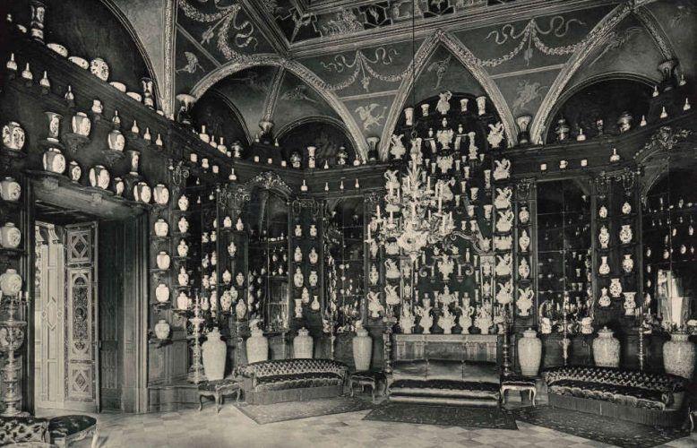 Dresden, Residenzschloss, Turmzimmer, 1896