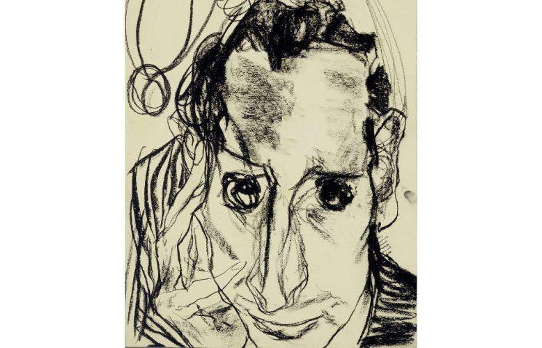 Edmund Kalb, Selbstbildnis, Detail, 1930 (© Privatbesitz Foto: Archiv Sagmeister, © Rudolf Sagmeister/Kunsthaus Bregenz)