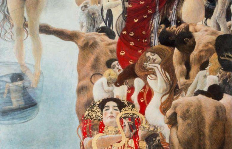 Factum Arte, Rekonstruktion von Klimts Medizin, Detail © Factum Arte