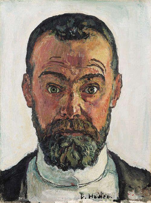 Ferdinand Hodler, Selbstbildnis, 1912, Öl/Lw, 35,5 × 27 cm (© Kunstmuseum Winterthur, Foto: Schweizerisches Institut für Kunstwissenschaft Zürich, Jean-Pierre Kuhn)