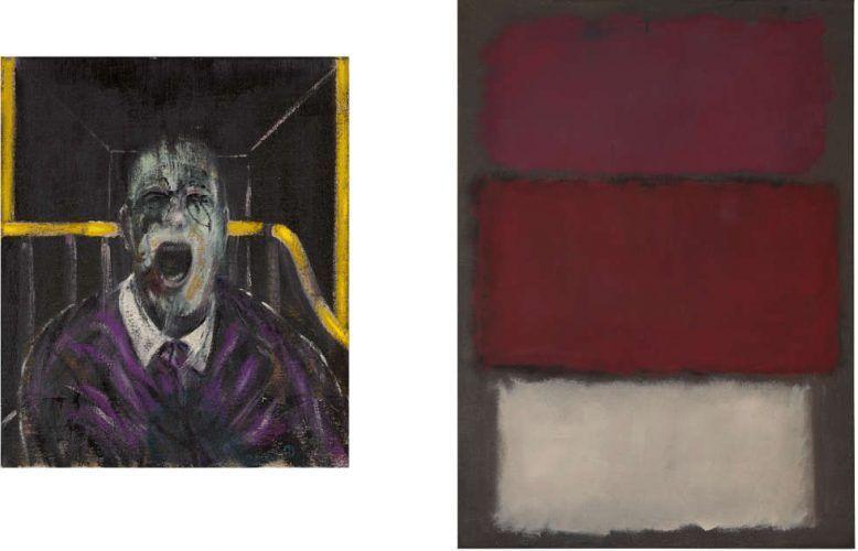 Francis Bacon und Mark Rothko, 2019 bei Sotheby's auktioniert
