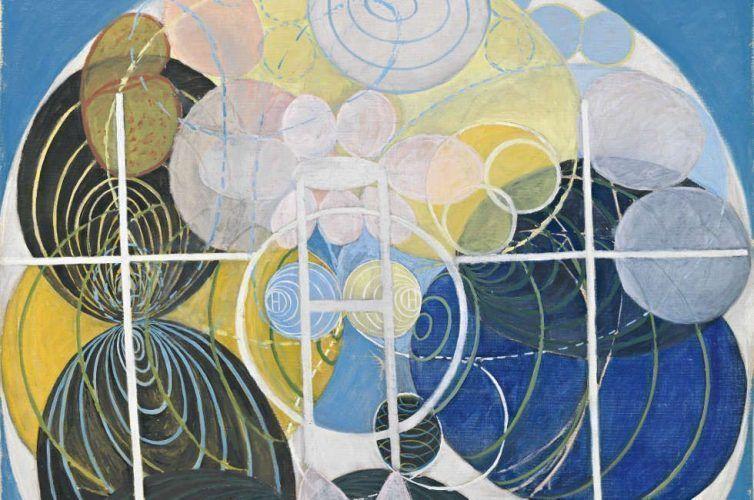 Hilma af Klint, Series WU/Rosen, Group III, No. 5, Detail (By courtesy of the Hilma af Klint Foundation, Foto: Albin Dahlström, Moderna Museet, Stockholm, Schweden)