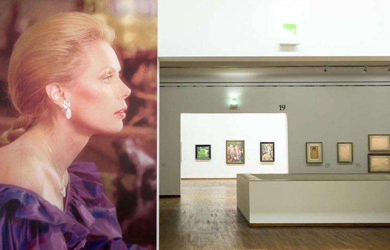 Einblick in die Ausstellung WOW! The Heidi Horten Collection im Leopold Museum, 2018.