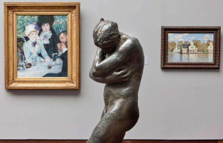 Impressionismus und Skulptur im Staedel Museum, Frankfurt a. M., Frühjahr 2020