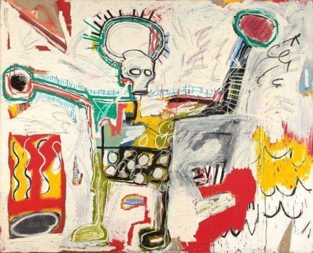 Jean-Michel Basquiat, Untitled, 1982 (Courtesy Museum Boijmans Van Beuningen, Rotterdam © The Estate of Jean-Michel Basquiat. Licensed by Artestar, New York. Photo: Studio Tromp, Rotterdam)