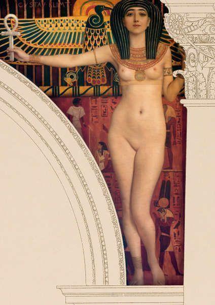 Klimt, Ägypten I (Nechbet), Kunsthistorisches Museum