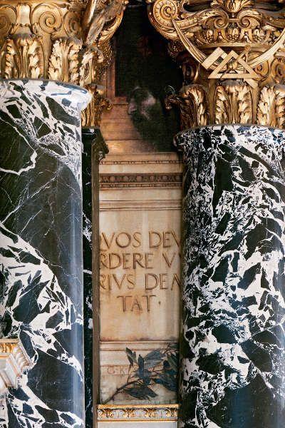 Klimt, Florentinisches Cinquecento (Goliath), Kunsthistorisches Museum, Stiegenhaus