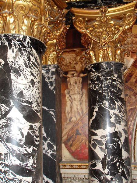 Klimt, Römisches Quattrocento (Taufbecken), Kunsthistorisches Museum, Stiegenhaus