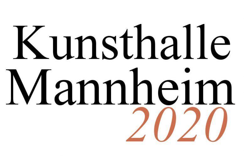Kunsthalle Mannheim 2020