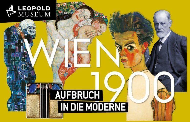 Leopold Museum Wien 1900: Schiele, Klimt, Sigmund Freud