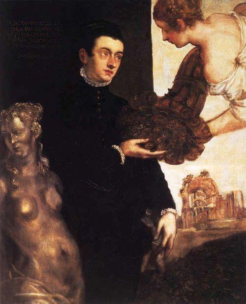 Marietta Robusti, genannt La Tintoretta, Porträt von Ottavio Strada, 1567-68 (Stedelijk Museum, Amsterdam)