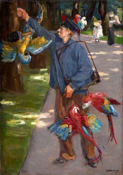 Max Liebermann, Der Papageienmann, 1902 (Museum Folkwang, Essen)