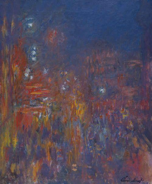 Claude Monet, Leicester Square, 1901, Öl/Lw, 80,5 x 64,8 cm (Coll. Fondation Jean et Suzanne Planque (in deposit at Musée Granet, Aix-en-Provence), Photo: © Luc Chessex