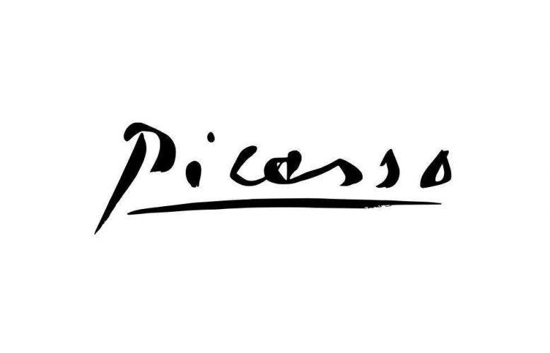 Picassos Signatur