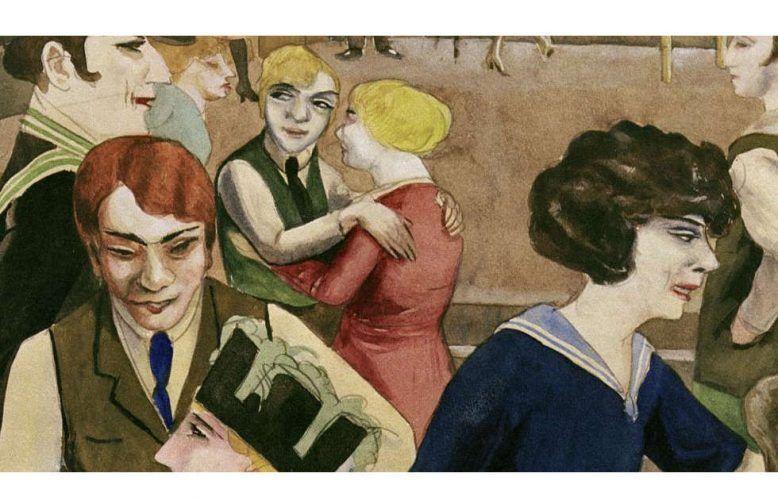 Rudolf Schlichter, Damenkneipe, Detail, um 1925 (Privatsammlung © Viola Roehr v. Alvensleben, München. Photo: akg-images)