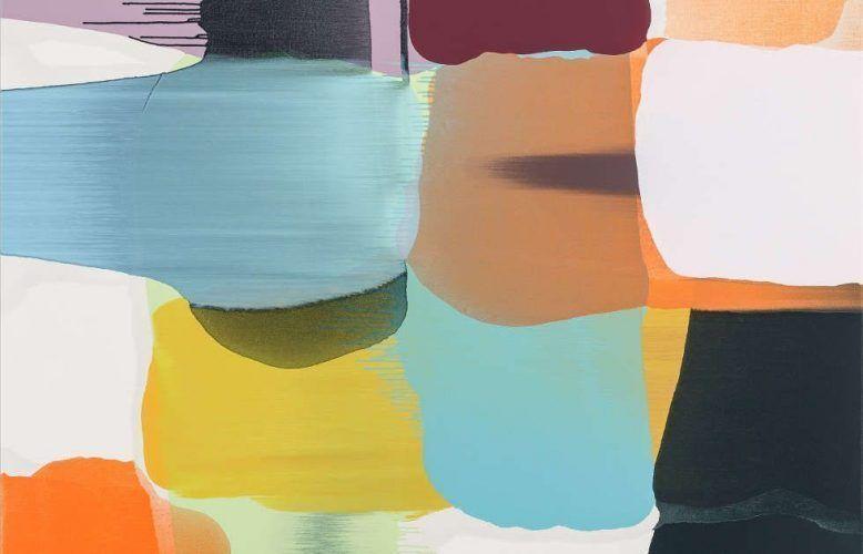 Thomas Reinhold, Matrix, Detail, 2018, Öl auf Leinwand, 150 x 140 cm (© Thomas Reinhold)