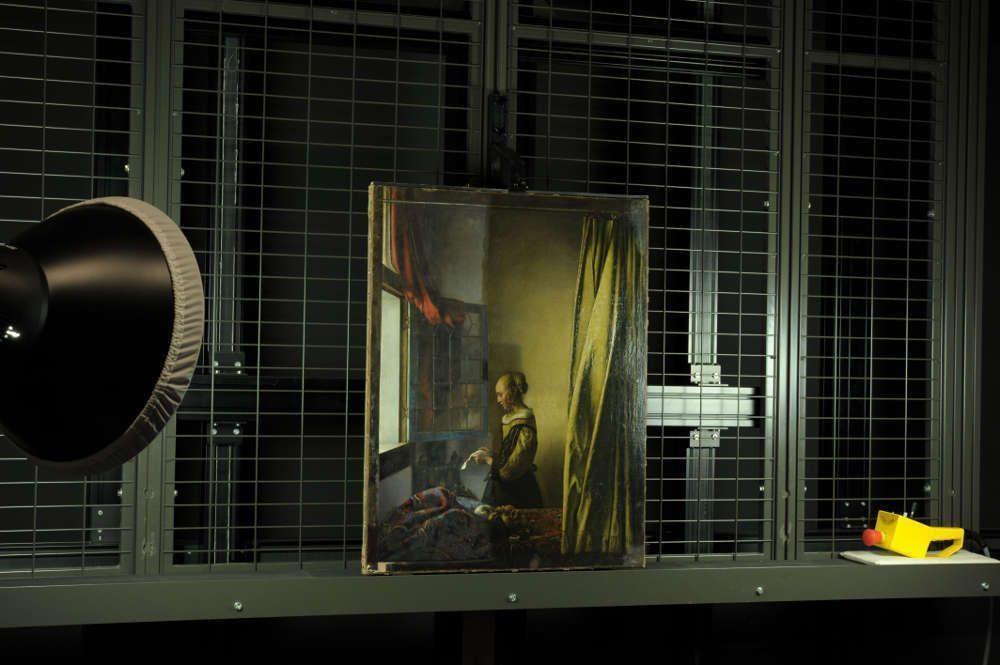 Johannes Vermeer, Brieflesendes Mädchen am offenen Fenster, um 1657-1659, Öl auf Leinwand, Gemäldegalerie Alte Meister © SKD, Foto: Wolfgang Kreische