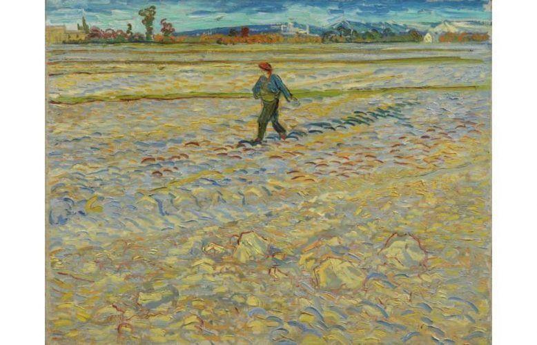 Vincent van Gogh, Der Sämann, 1888 (Hahnloser/Jaeggli Stiftung, Winterthur, Schenkung Elisabeth Lasserre-Jäggli, 1983)