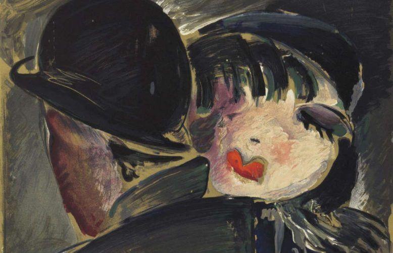 Werner Scholz, Am Bülowbogen, Detail, um 1930, Farblithographie (© Berlinische Galerie – Landesmuseum für Moderne Kunst, Fotografie und Architektur. Leihgabe aus Privatbesitz, Hamburg)