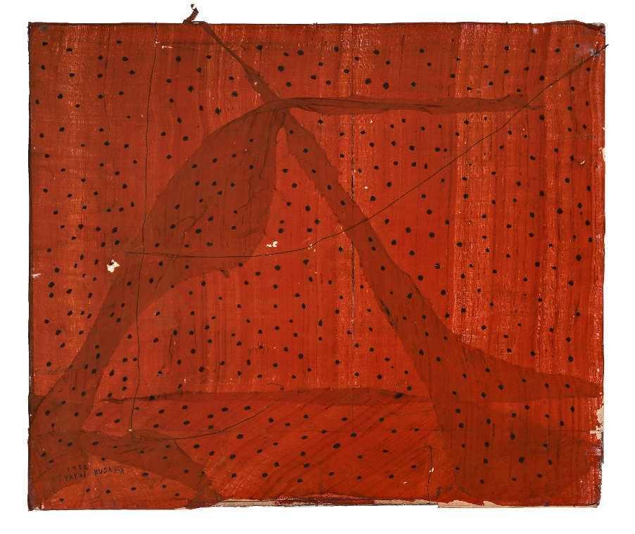 Yayoi Kusama, The Parting, 1952 © Yayoi Kusama, Courtesy Ota Fine Arts, Tokyo/Singapore, Victoria Miro Gallery, London, David Zwirner, New York.