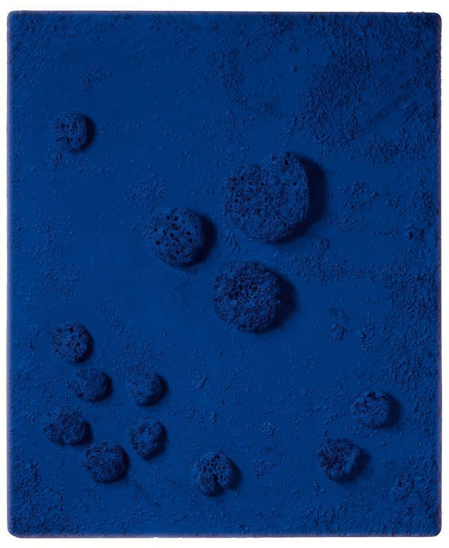Yves Klein, RE 11, Archiponge, 1960, Private Collection © VBK, Wien 2007