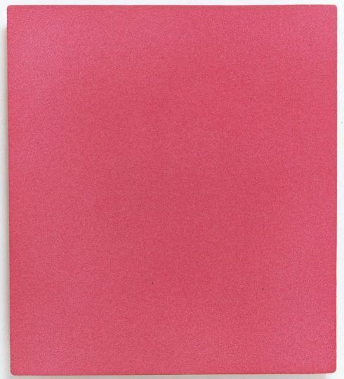 Yves Klein, MP 27, Rosa Monochrom ohne Titel, ca.1960, Private Collection © VBK, Wien 2007