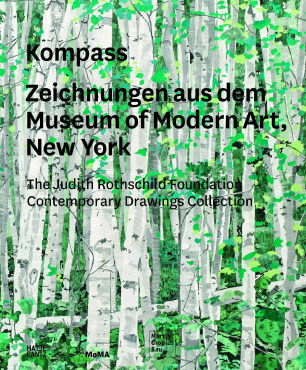 Kompass. Zeichnungen aus dem Museum of Modern Art, New York, Cover (Hatje Cantz)