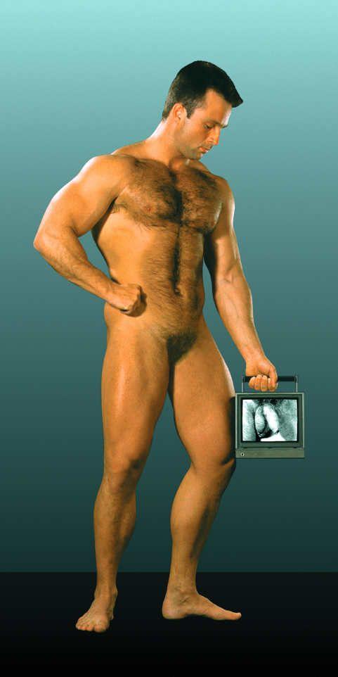 Zelko Wiener, Der Bodybuilder, 1992 © MUSA.